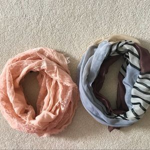 2 for 12 infinity scarves
